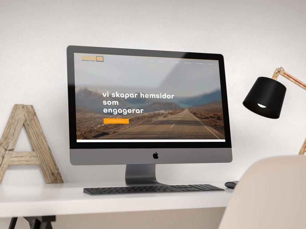webbme startsida iMac pro